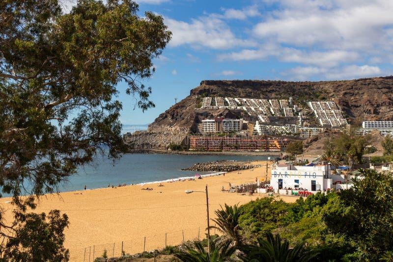 Gran Canaria de Playa Amadores imagem de stock royalty free