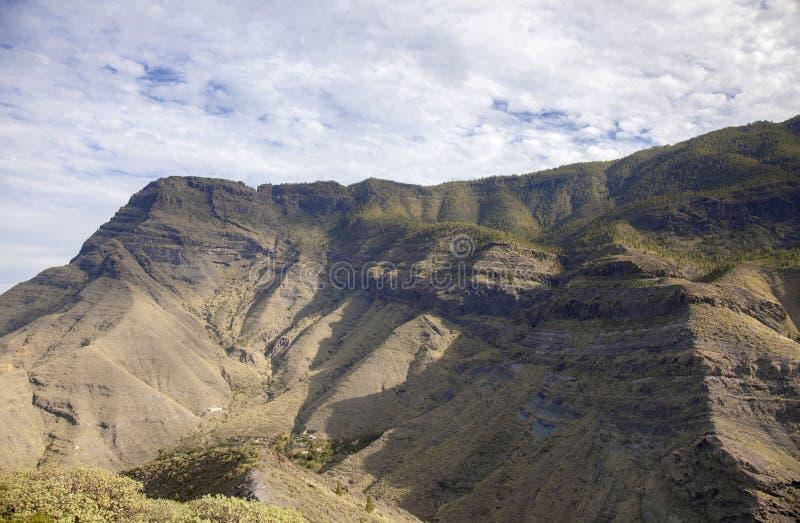 Gran Canaria, enero fotografía de archivo