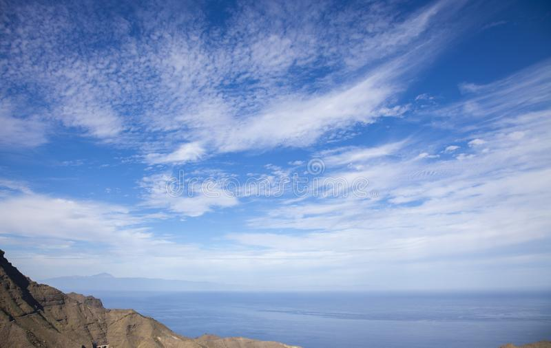 Gran Canaria, enero fotografía de archivo libre de regalías