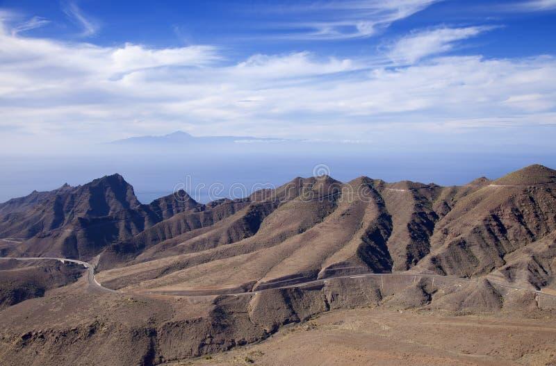 Gran Canaria, enero fotos de archivo