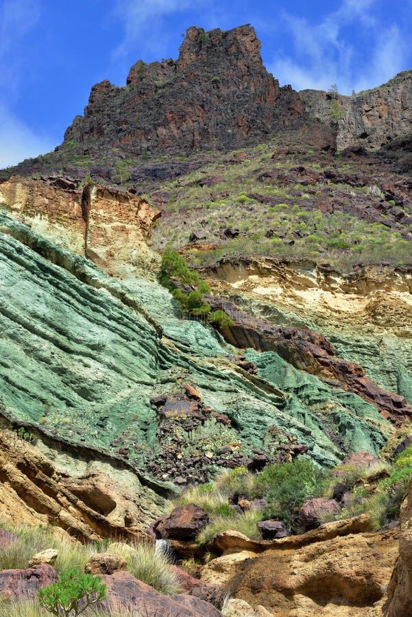 Gran Canaria landskap royaltyfri foto