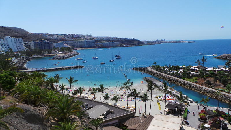 Gran Canaria Les Îles Canaries photographie stock