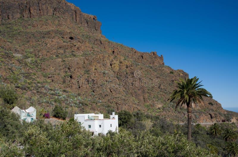 Gran Canaria-mening stock afbeelding