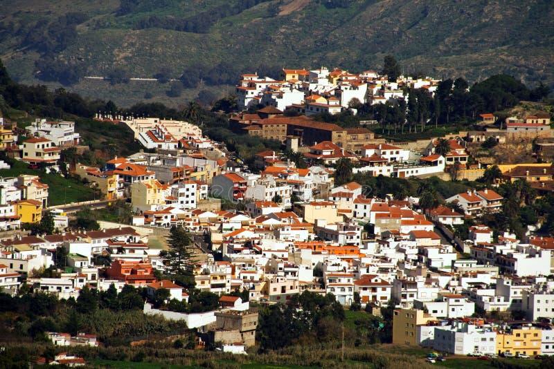 Gran Canaria mountain village royalty free stock photos
