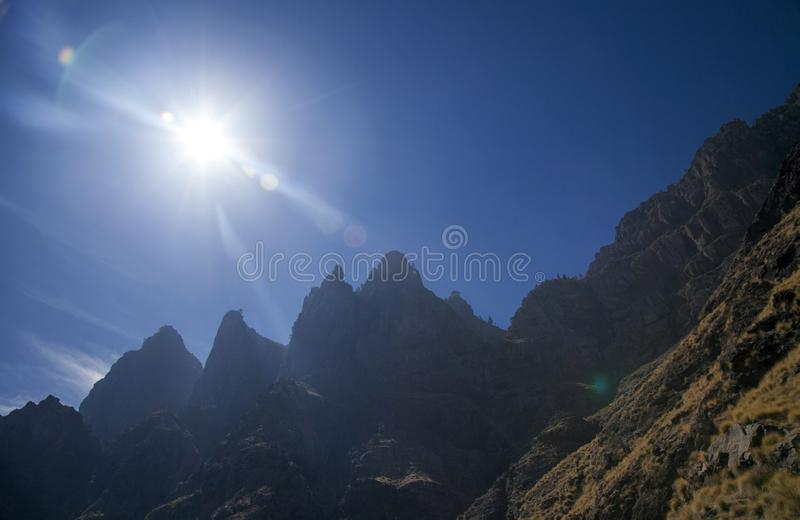 Gran Canaria Oktober arkivfoton