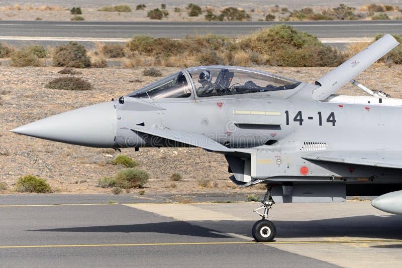 GRAN CANARIA 28. Oktober, Militärübung, 28. Oktober 2019 Gran Canaria Canary ist Spanien lizenzfreies stockbild