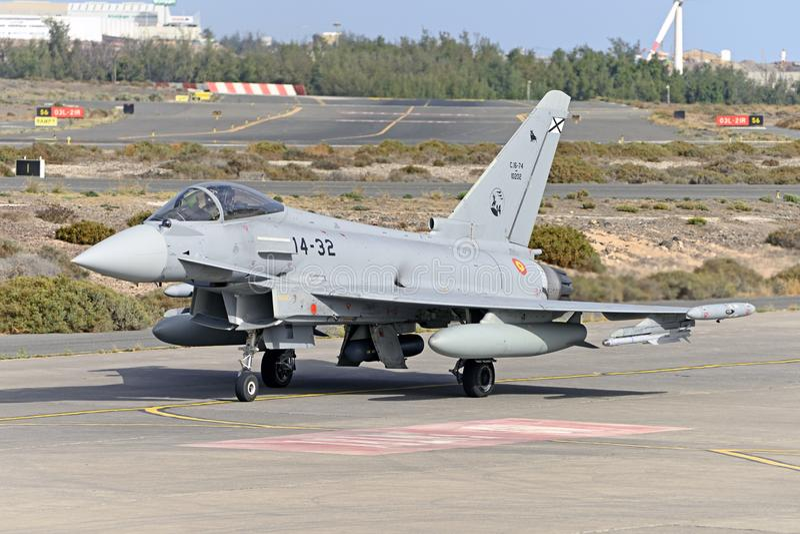 GRAN CANARIA 28. Oktober, Militärübung, 28. Oktober 2019 Gran Canaria Canary ist Spanien stockfoto