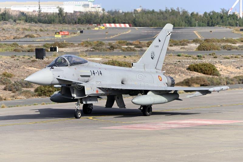 GRAN CANARIA 28 oktober, Militära manövrer, 28 oktober 2019 Gran Canaria Canary Spanien royaltyfria bilder