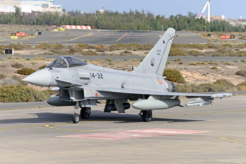 GRAN CANARIA 28 oktober, Militära manövrer, 28 oktober 2019 Gran Canaria Canary Spanien arkivfoto