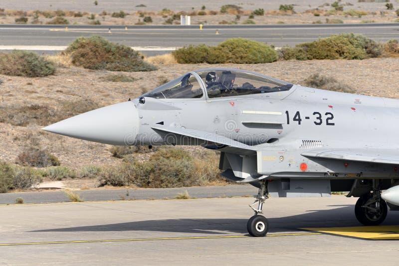 GRAN CANARIA 28 oktober, Militära manövrer, 28 oktober 2019 Gran Canaria Canary Spanien arkivbilder