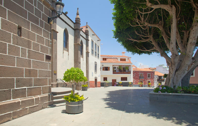 Gran Canaria, Santa Brigida arkivbild