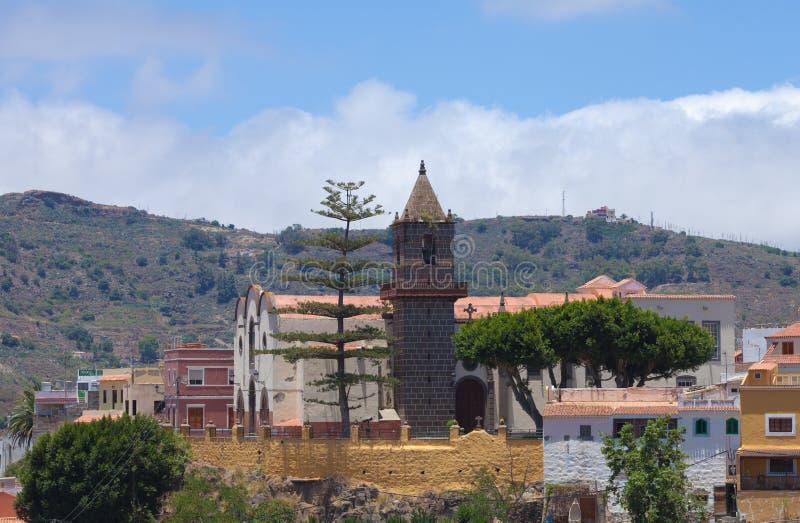 Gran Canaria, Santa Brigida arkivfoton