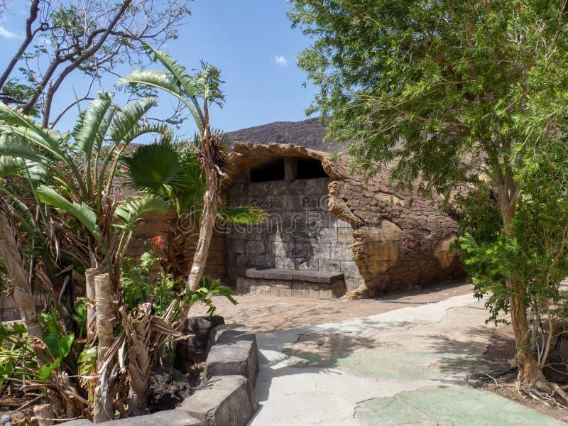 Cocodrilo Park, Gran Canaria. Gran Canaria/Spain - August 15 2019: Crocodilo Park is located in the south east of Gran Canaria island close to Agüimes stock photos