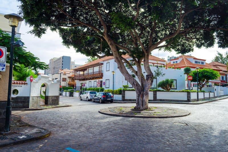 Gran Canaria spain 2 de dezembro de 2018 Arquitetura bonita de Gran Canaria spain fotos de stock
