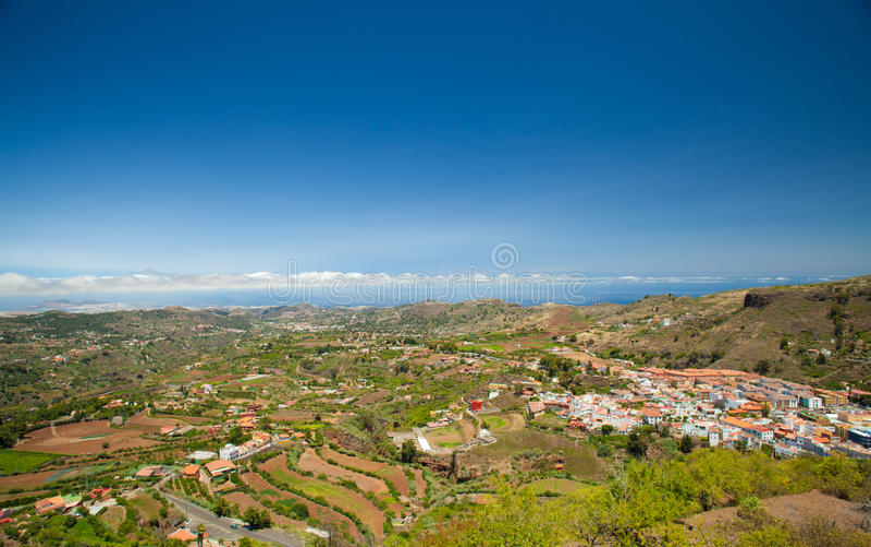 Gran Canaria, Vega de San Mateo fotografie stock
