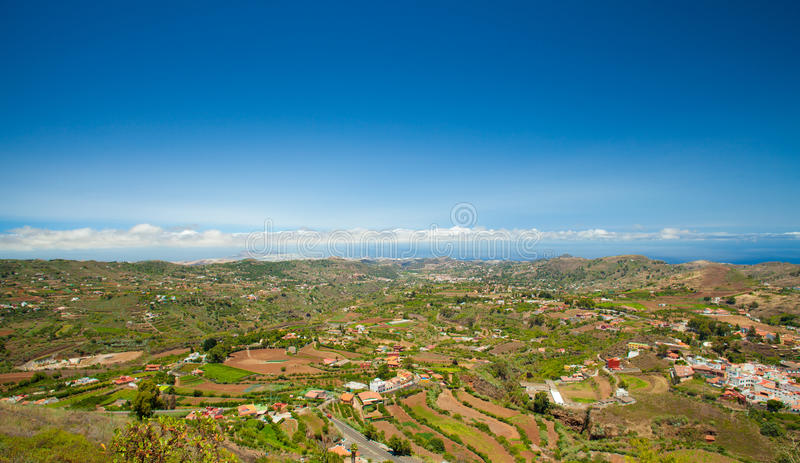 Gran Canaria, Vega de San Mateo fotografia stock libera da diritti
