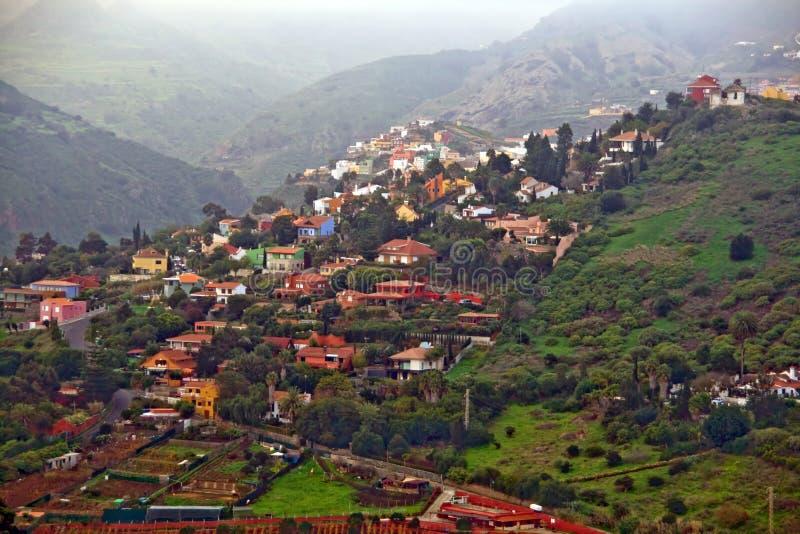 Gran Canaria village royalty free stock photos