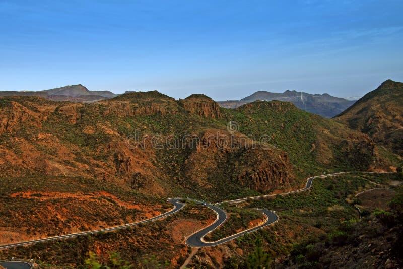 Gran Canarian Mountains royalty free stock image