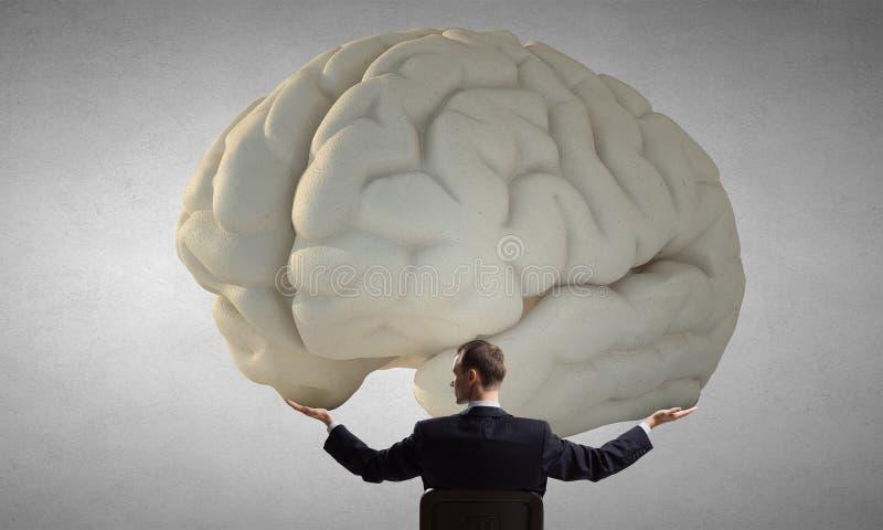 Gran concepto de la mente imágenes de archivo libres de regalías