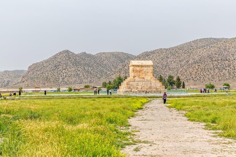 Download Gran Cyrus Tumba De Pasargad Fotografía editorial - Imagen de ruinas, arqueológico: 64212417