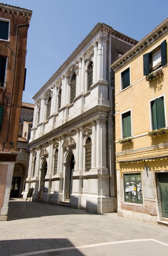 Gran dei Carmini, Venezia di Scuola fotografie stock libere da diritti