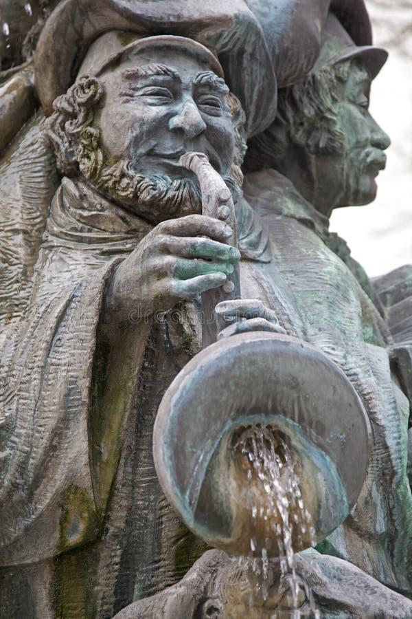 Fuente de Luxemburgo foto de archivo libre de regalías