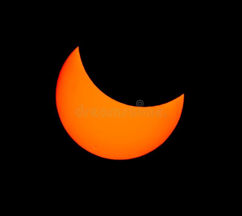 Gran eclipse americano 2017 imagen de archivo