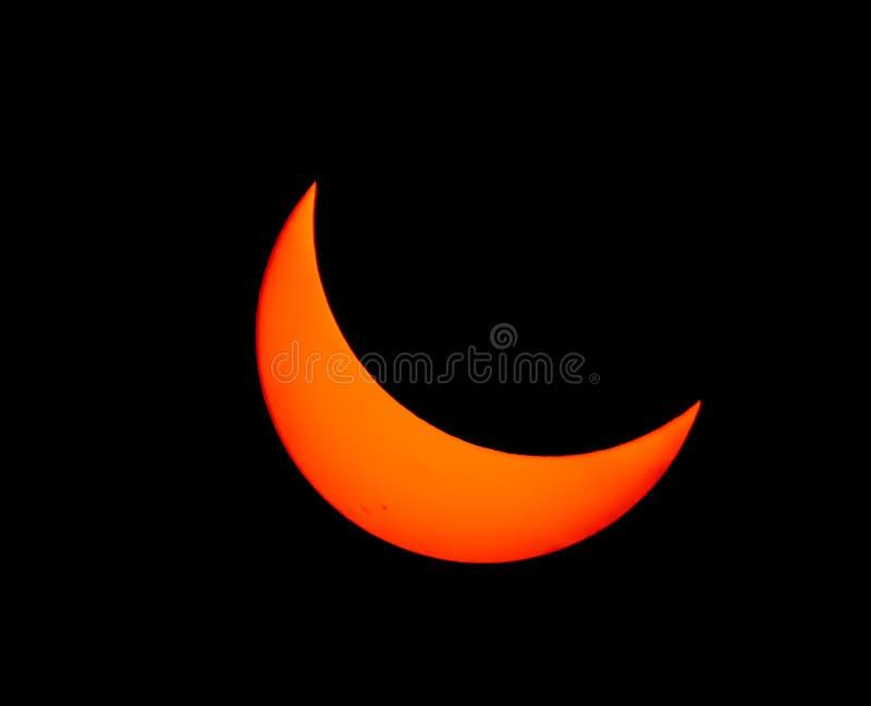 Gran eclipse americano 2017 fotos de archivo libres de regalías