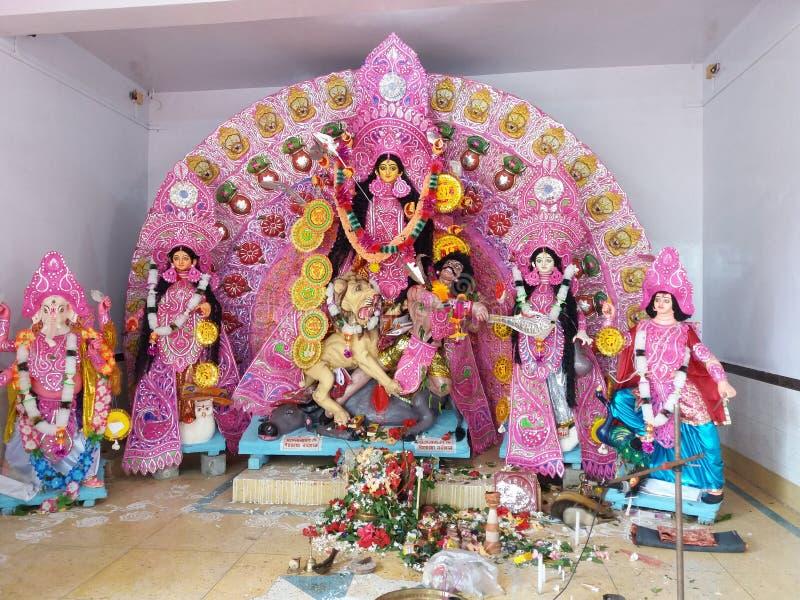 Gran festival indio Durga Puja imagenes de archivo