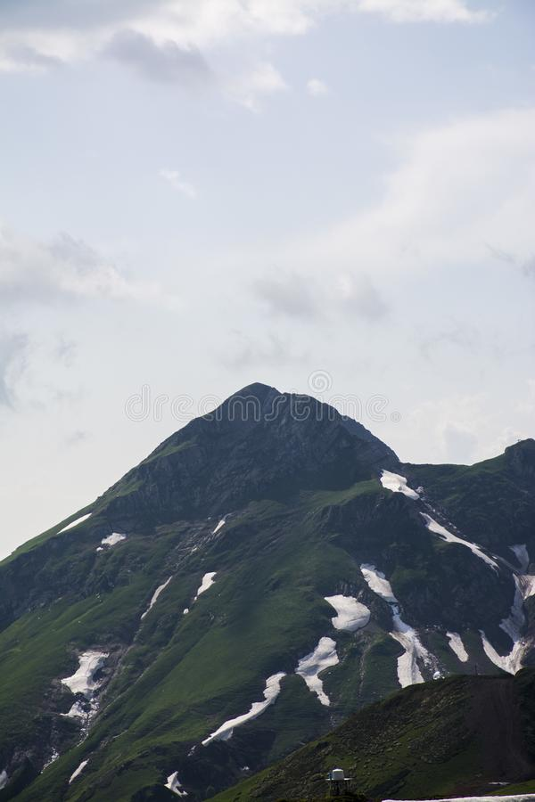 Gran fondo del Mountain View imagen de archivo