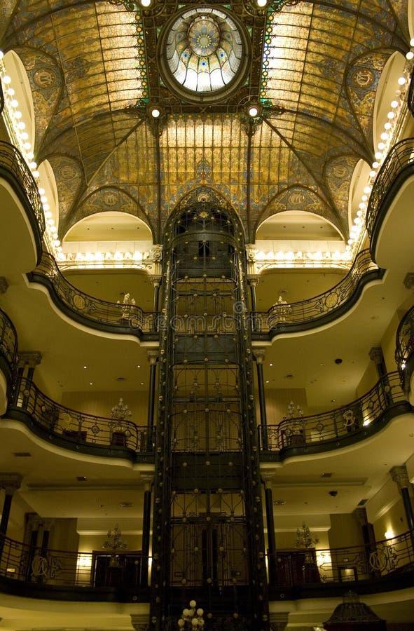 Gran hotell Ciudad de Mexico royaltyfria foton