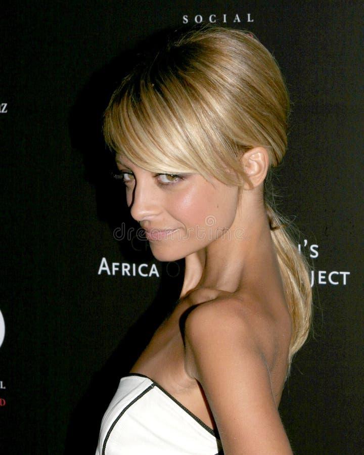 Nicole Richie imagen de archivo
