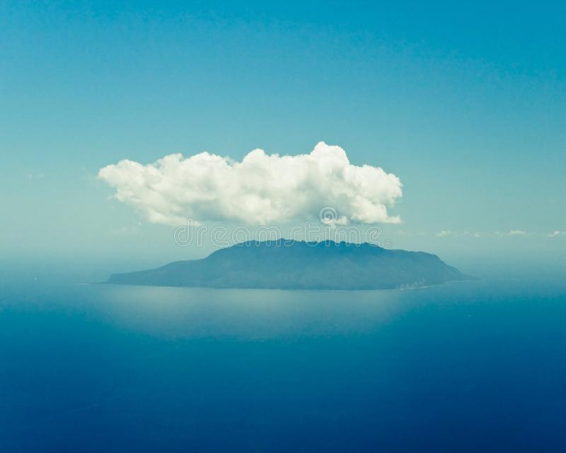 Gran isla de la barrera fotografía de archivo