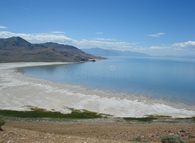 Gran Lago Salato fotografia stock libera da diritti