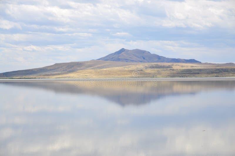Gran Lago Salato fotografia stock