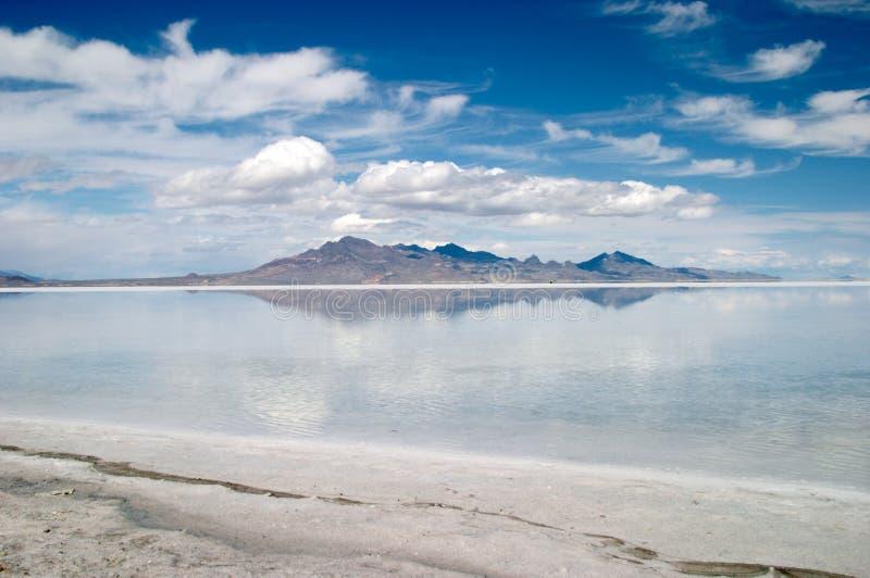 Gran Lago Salato immagine stock libera da diritti