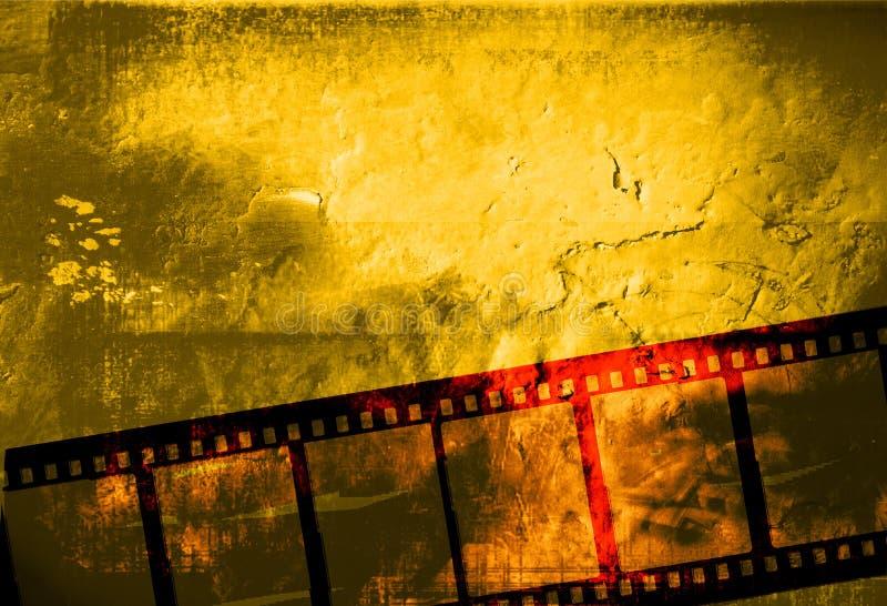 Gran marco de película stock de ilustración