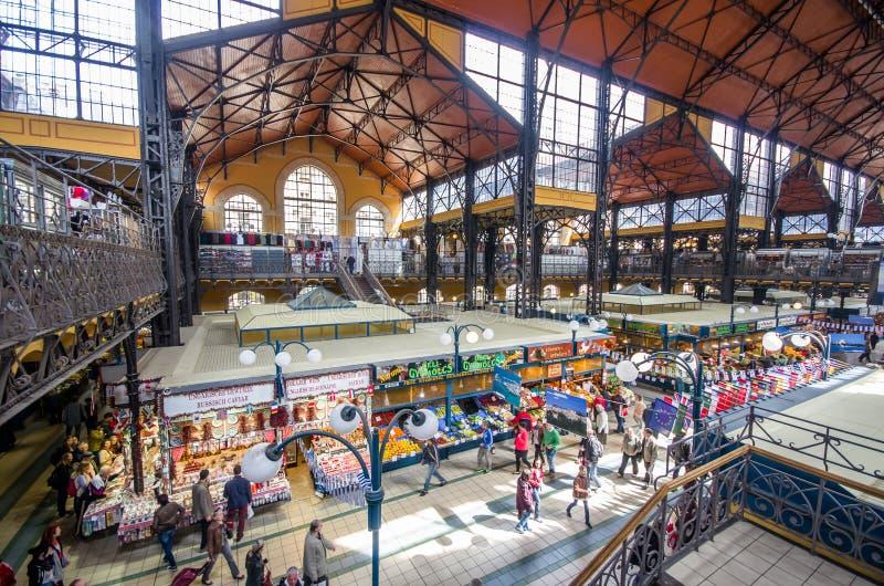 Gran mercado Pasillo fotografía de archivo libre de regalías
