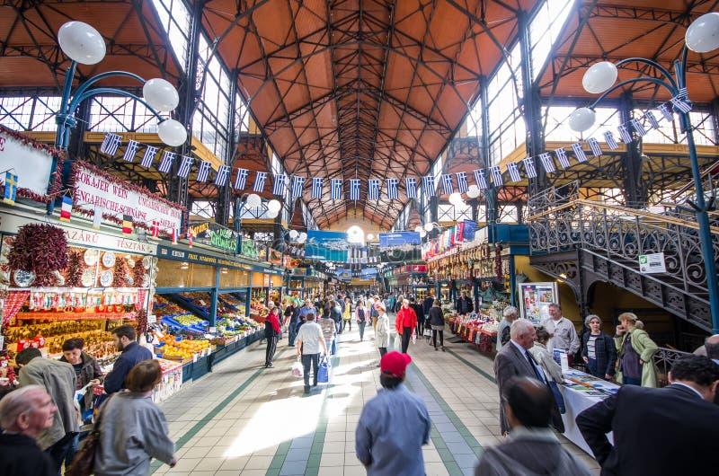 Gran mercado Pasillo foto de archivo