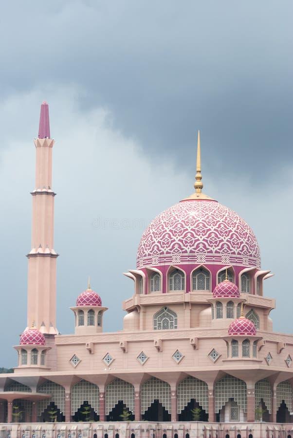 Gran mezquita de Putrajaya fotos de archivo libres de regalías