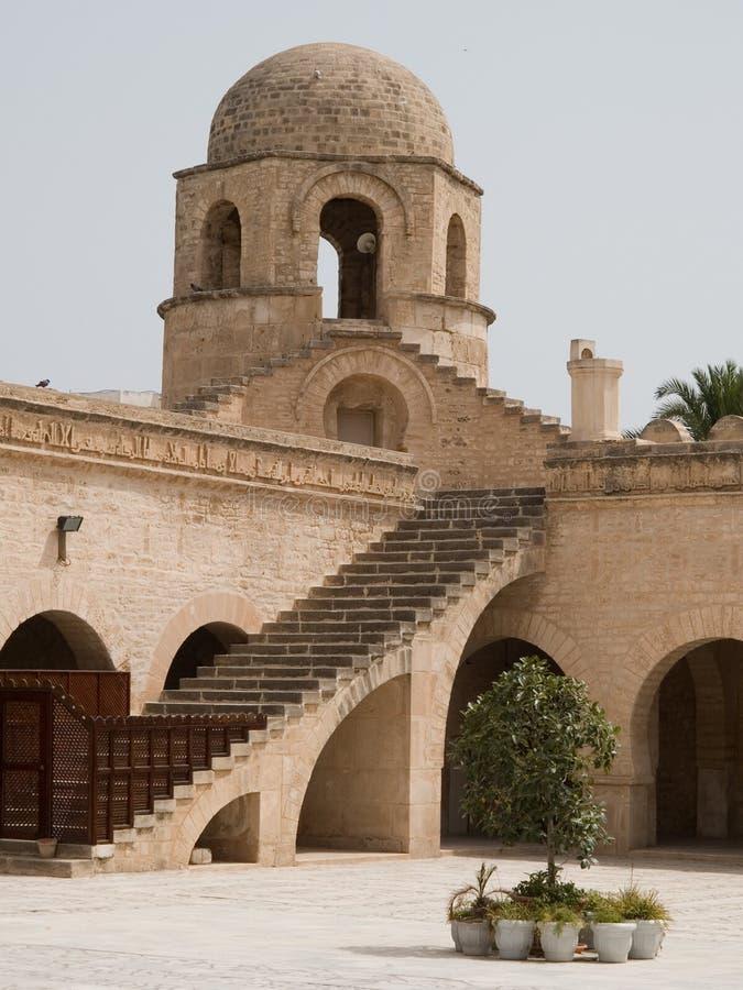 Gran mezquita de Sousse foto de archivo