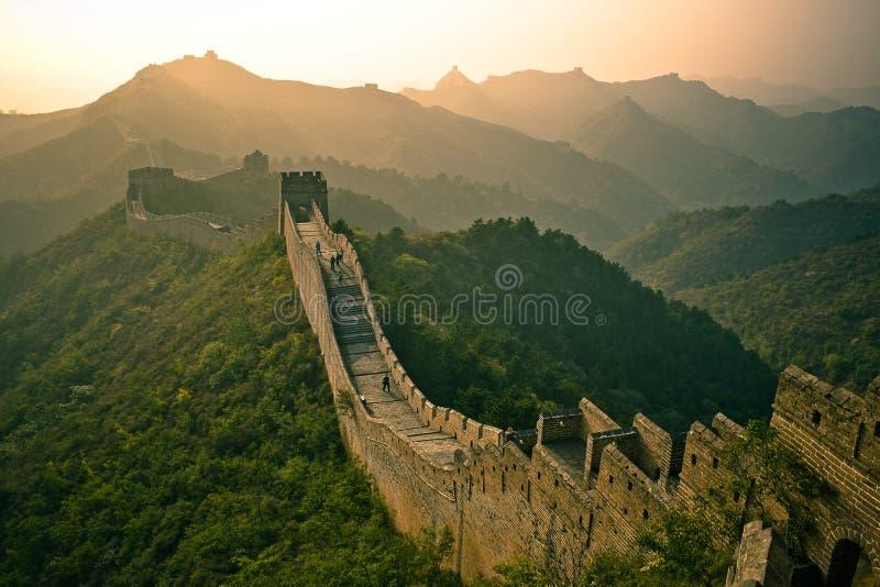 Gran Muralla fotografía de archivo