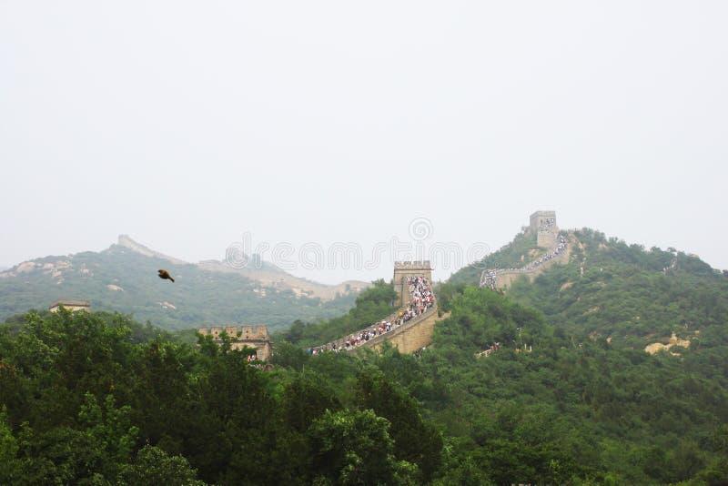 Gran Muralla de Badaling fotografía de archivo libre de regalías