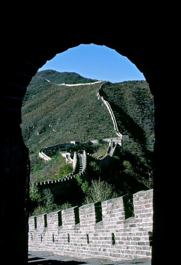 Gran Muralla de China - China foto de archivo libre de regalías