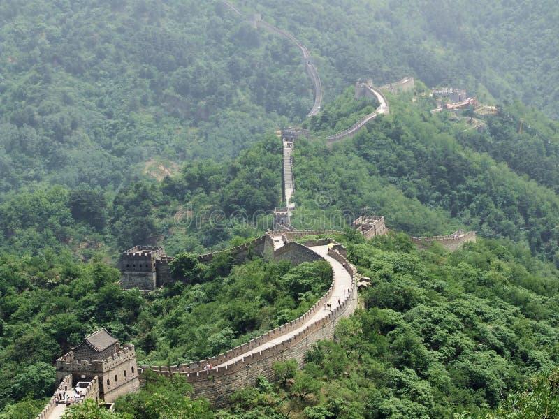 Gran Muralla de China imagen de archivo