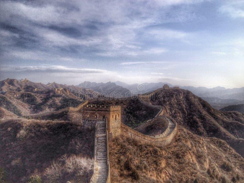 Gran Muralla de China fotos de archivo