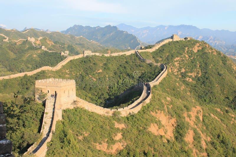 Gran Muralla de China fotos de archivo libres de regalías