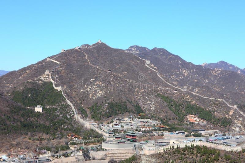 Gran Muralla de Juyongguan foto de archivo