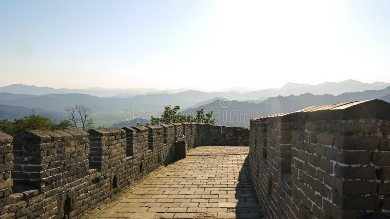 Gran Muralla de Mutianyu fotos de archivo