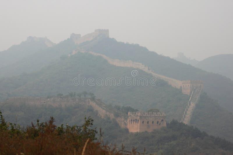 Gran Muralla salvaje fotos de archivo